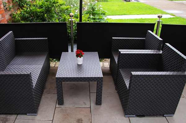 backyard patio done by our experienced landscaper in Gilroy