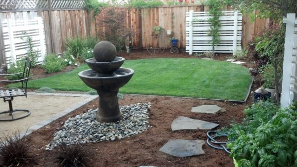 custom outdoor founatin in Riding Ct. – San Jose