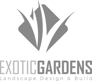 Exotic Gardens landscape design in Morgan Hill, California